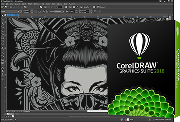 Tela do CorelDRAW