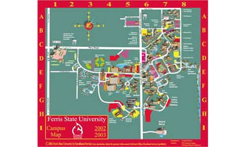 Ferris State Campus Map Ferris State University saves time and reduces costs by creating