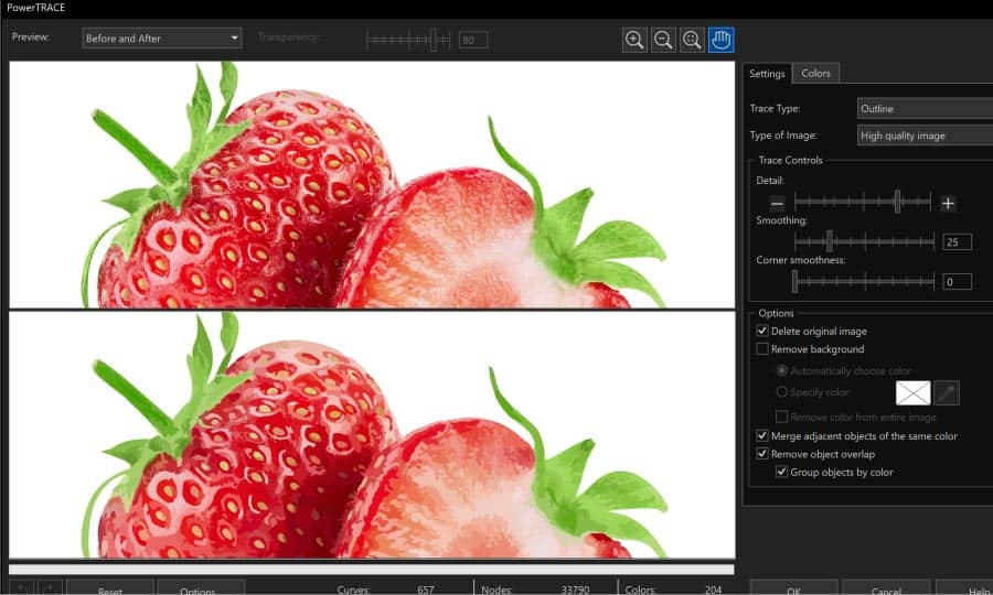 How To Vectorize An Image In Coreldraw