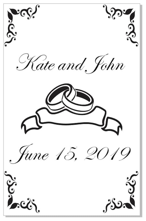 How To Make A Wedding Program In Coreldraw