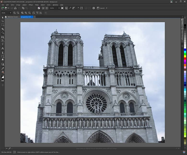 How To Correct Perspective Distortion In Coreldraw
