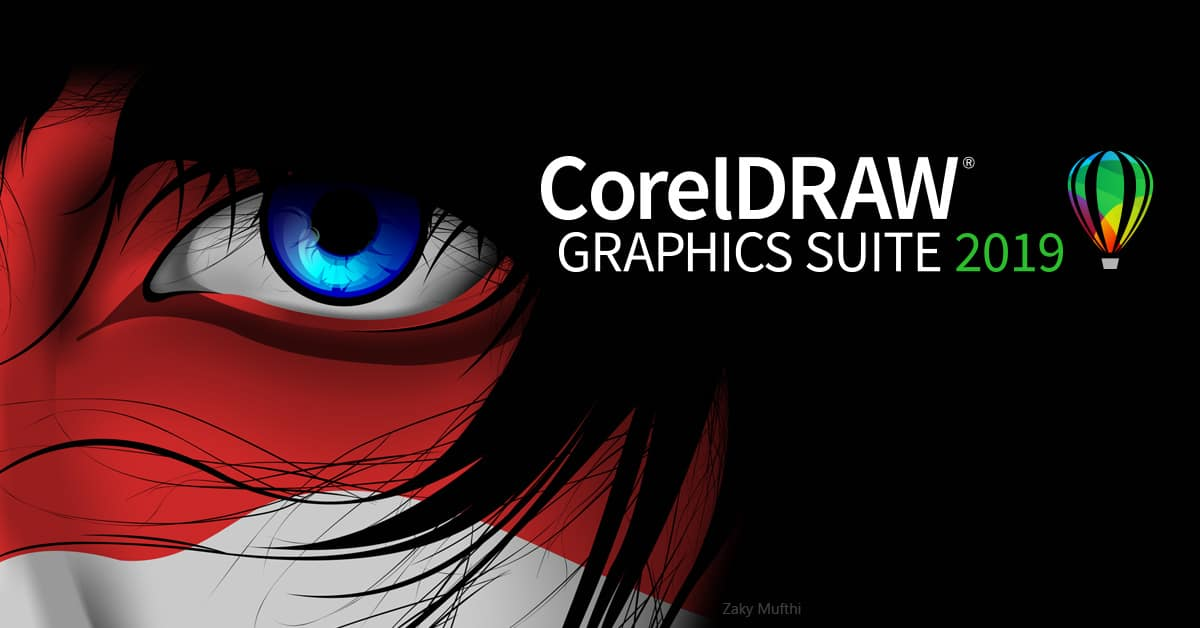 Graphic design software – CorelDRAW Graphics Suite 2019