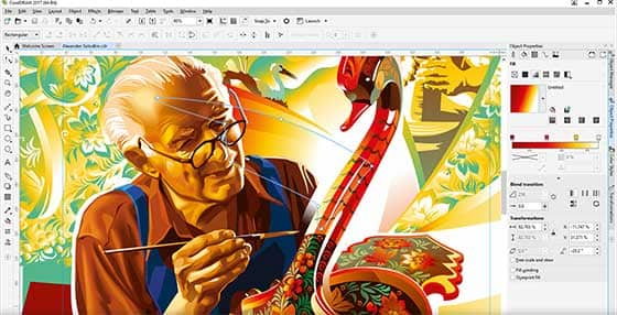 Jump in with CorelDRAW's graphics software