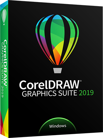 Graphic Design Software – Windows – CorelDRAW Graphics Suite 2019