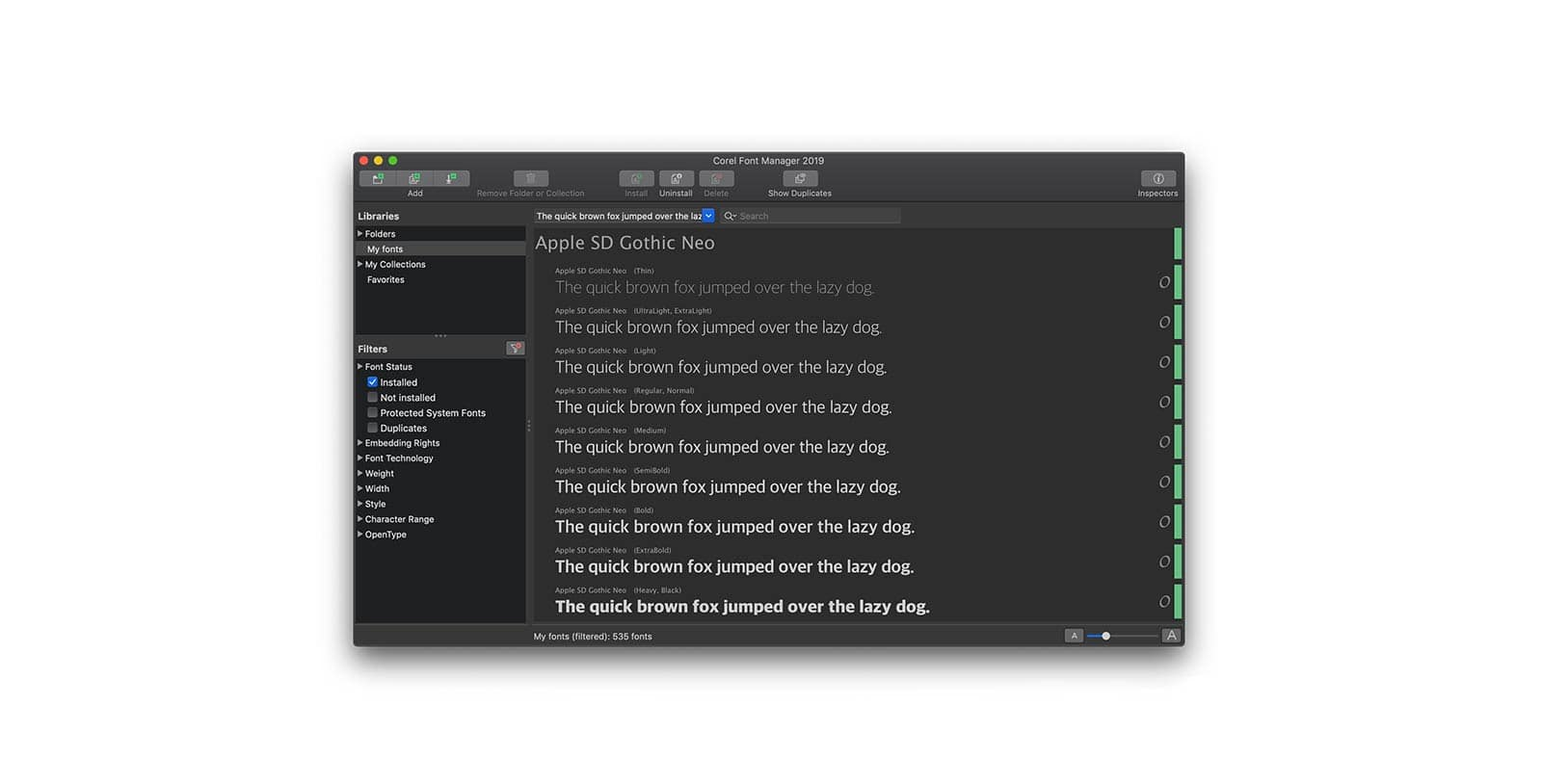 Graphic Design Software – Mac – CorelDRAW Graphics Suite 2019