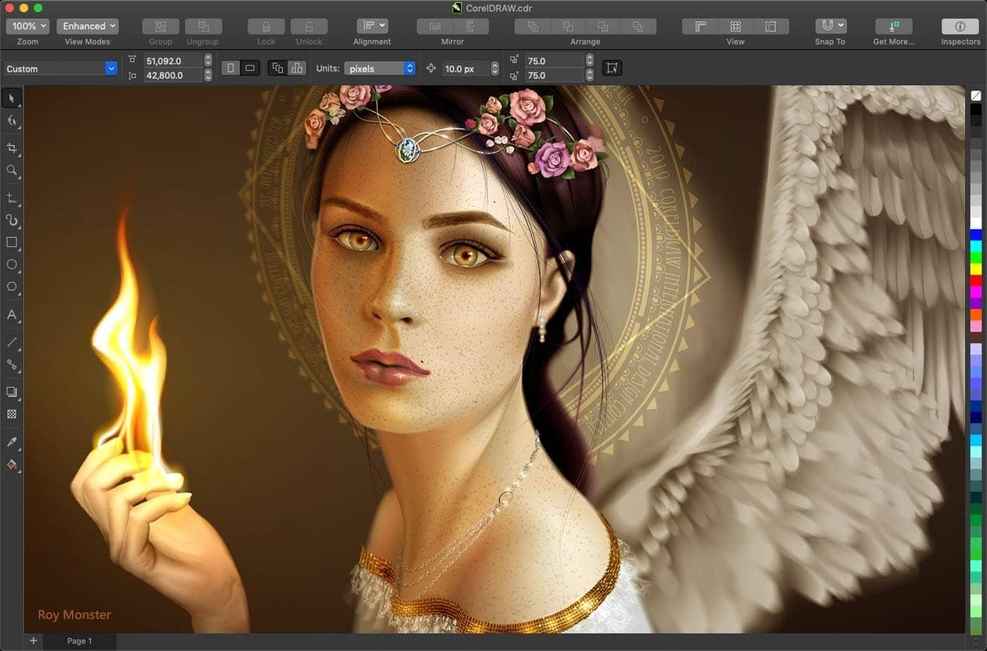 Graphic Design Software Mac Coreldraw Graphics Suite 2020