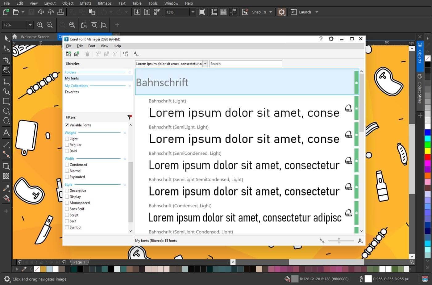 Corel Font Manager 2020