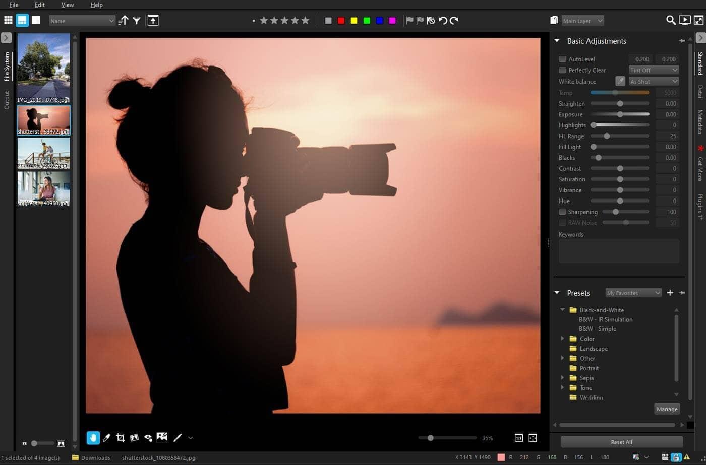 AfterShot 3 HDR