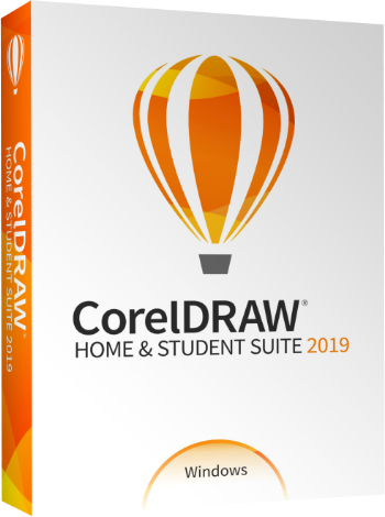 Graphic design software - CorelDRAW Home & Student Suite 2019