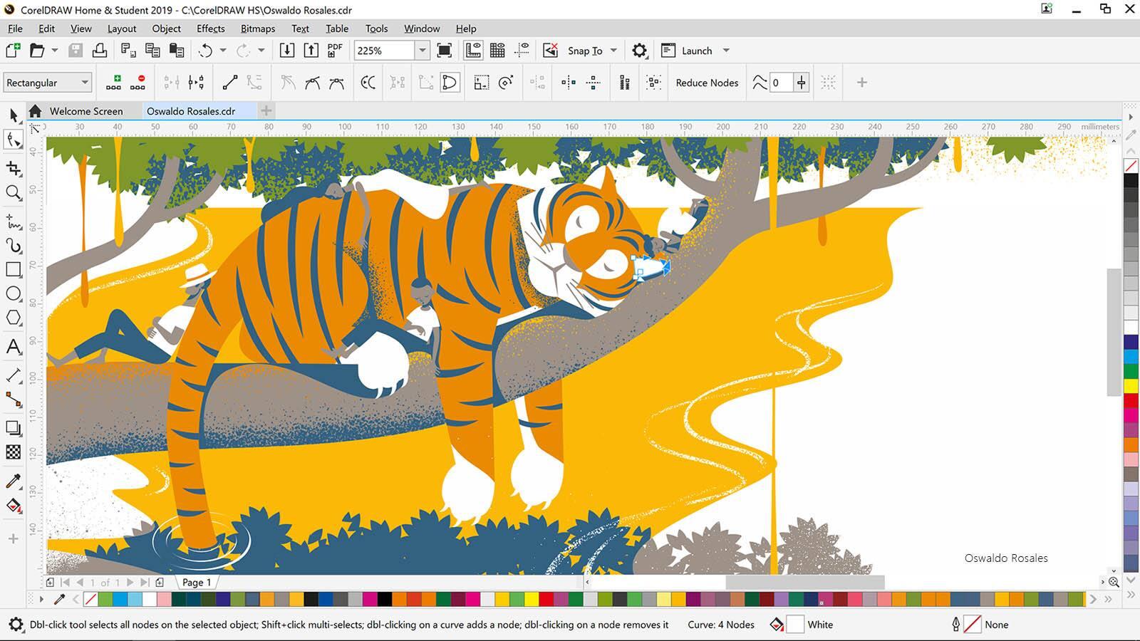 Graphic design software - CorelDRAW Home & Student Suite 2019