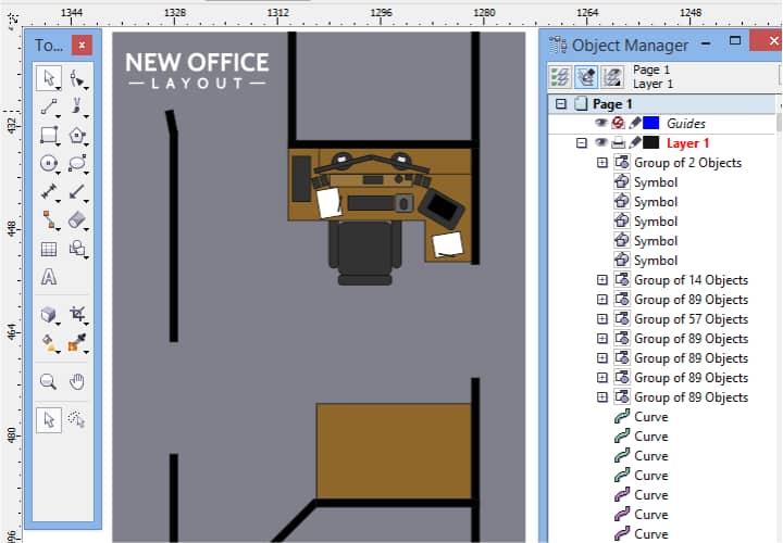 Disegnare Una Scrivania.Coreldraw Graphics Suite Esercitazioni
