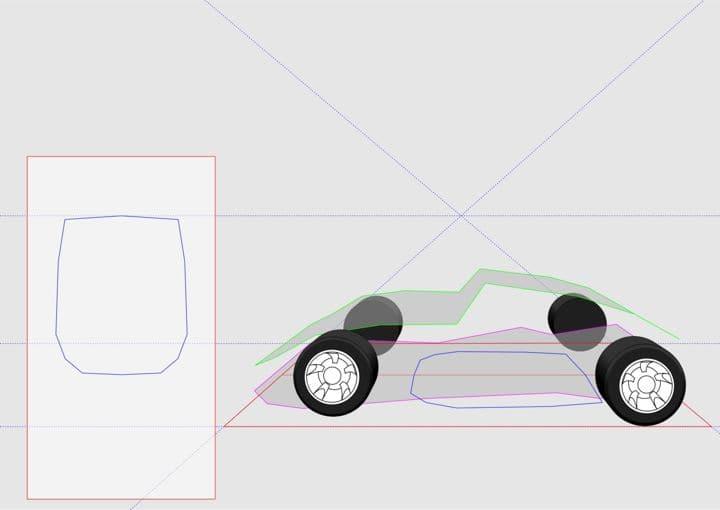 Line Drawing Of Car : Beautiful retro car black lines stock vector art more images of