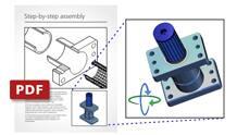 Publicación de archivos PDF 3D