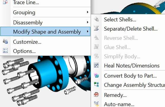 Additional 3D CAD visualization tools