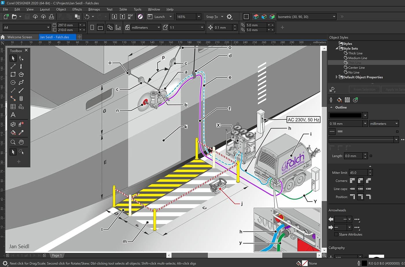 Technical Design Software Windows Coreldraw Technical Suite 2020