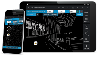 Get CorelCAD Mobile for your smartphone and tablet
